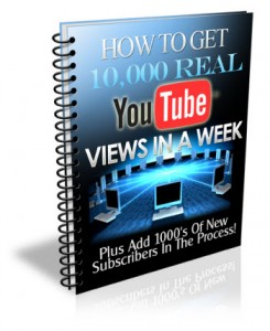 get 10,000 youtube views