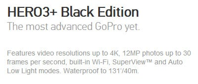 Hero3+ black edition review